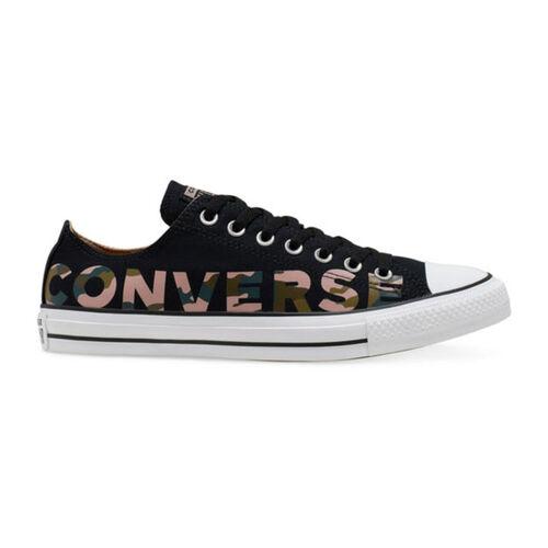 Converse Chuck Taylor All Star Wordmark Camo Mens Casual Shoe