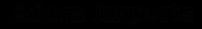 Edora Imports Logo